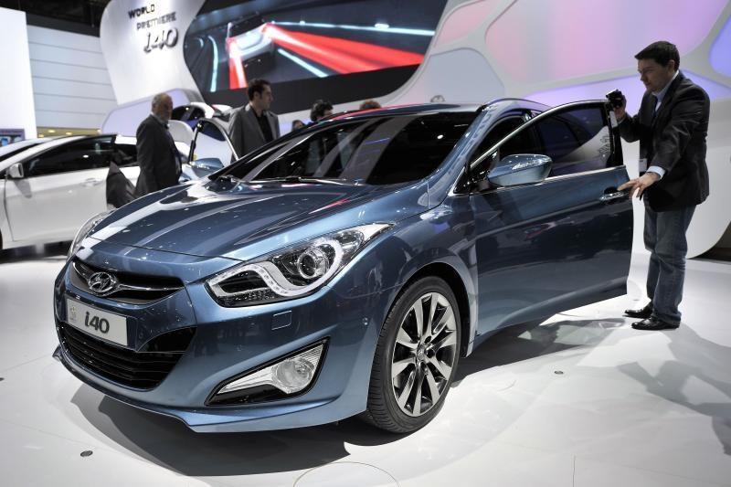 """""""i40"""" šiemet yra geriausiai parduodamas """"Hyundai"""" modelis Lietuvoje"""