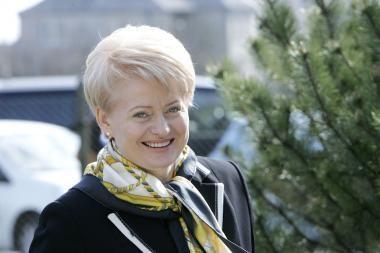 D. Grybauskaitė: labiau integruota ES išgelbės eurą