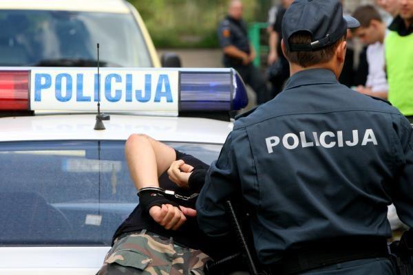 Girtas vairuotojas ir jo draugai pasipriešino policijos pareigūnams