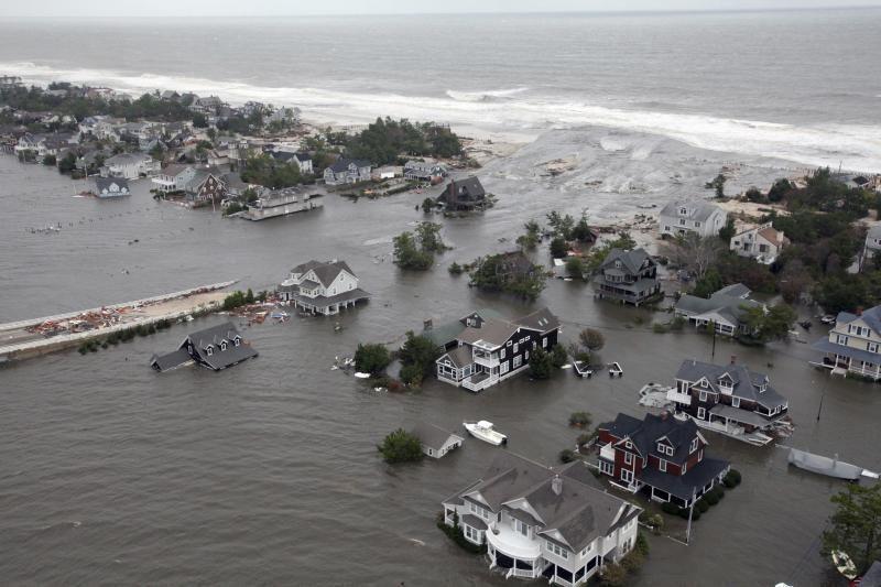 Jungtinės Valstijos 2100-aisiais - po vandeniu? (vizualizacijos)