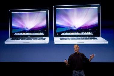 """""""Apple"""" atnaujino """"MacBook"""", bet žymiai jų neatpigino (papildytas)"""