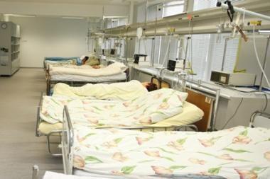Į Vilniaus ligoninę paguldytas koją persišovęs jaunuolis