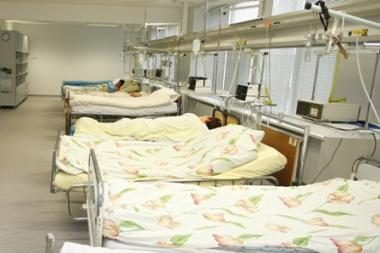 Vilniaus Vaikų ligoninė nebegali aptarnauti vaikų