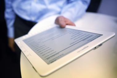 Kaip veikia elektroninės knygos?
