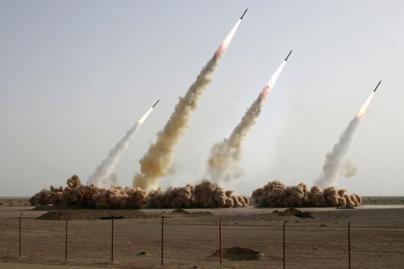 Irano raketų skrydžiai - klastotė