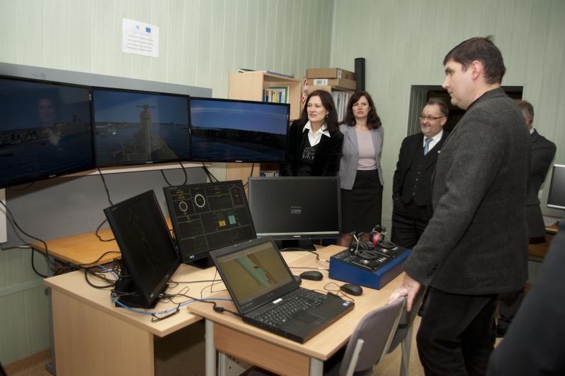 Klaipėdos universitetas įsigijo aukšto tikslumo navigacinę įrangą