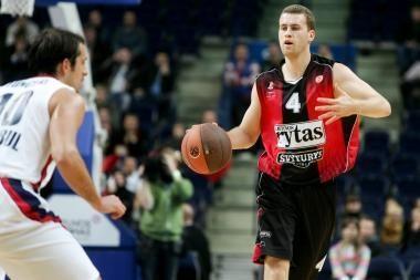 B.Popovičius tapo geriausiu Eurolygos mėnesio žaidėju