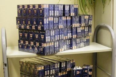 Už prekybą cigaretėmis vilnietė nuteista jau 23 kartą