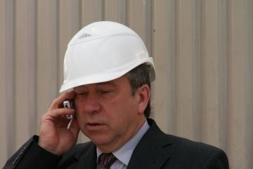 Ūkio ministras ekonomikos krizės nemato