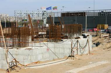 Vilniaus valdžia sieks tęsti nacionalinio stadiono statybą