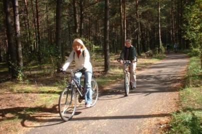 Domeikavoje — pėsčiųjų ir dviračių takas