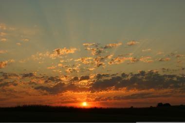 Aktyvesnė Saulė – vėsesnė Žemė