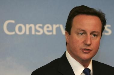Britų premjeras nori glaudesnių ekonominių santykių su Lietuva
