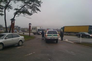 Žadėtoji magistralės blokada verslininkams pridarė nuostolių