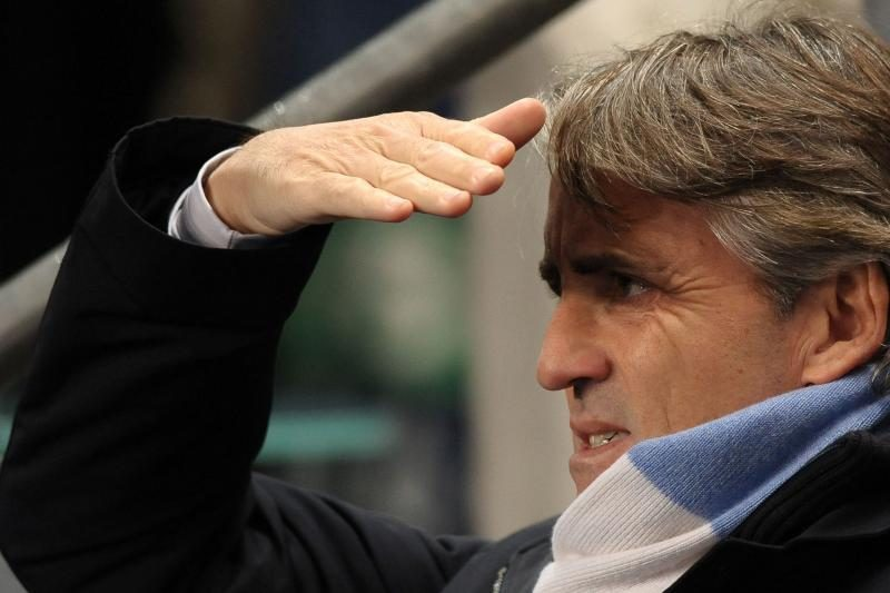 R.Mancini: nusipelnėme laimėti šias rungtynes