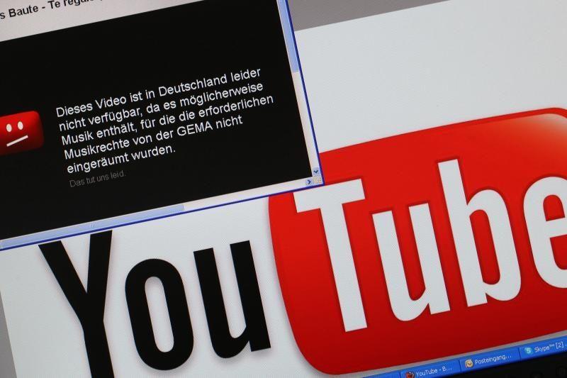 """Prancūzija nebaus """"YouTube"""" už vartotojų patalpintą turinį"""
