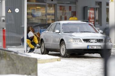 Degalų kainos toliau auga
