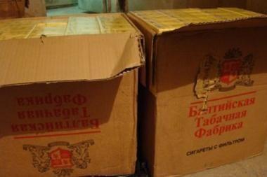 Kretingiškis kontrabandines cigaretes pardavinėjo internetu