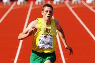 R.Sakalauskui pakluso Lietuvos 100 m bėgimo rekordas (papildyta)