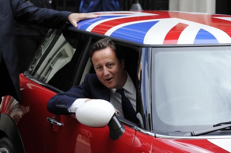 D. Cameronas supykdė Europą kautynėse dėl biudžeto