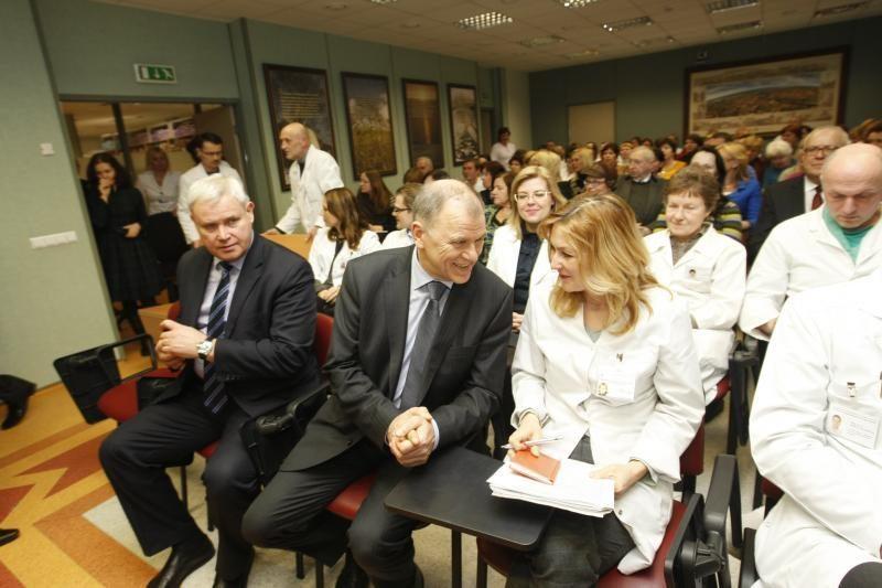 Sveikatos ministro apdovanojimai – ir klaipėdiečiams