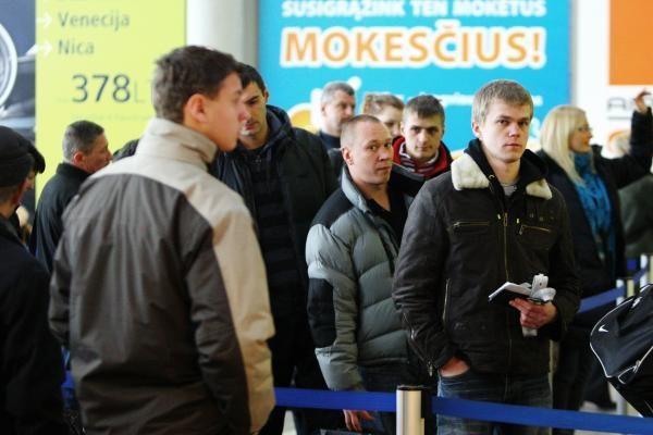 PSD deklaruoti emigraciją privertė 5 kartus daugiau gyventojų