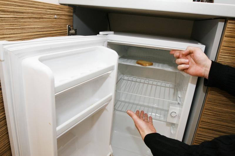 Vagišė ištuštino tik šaldytuvą