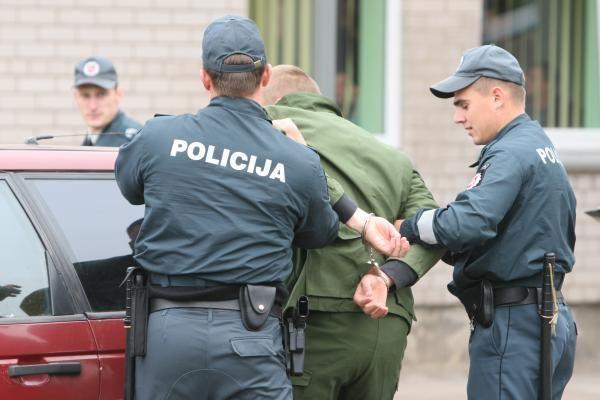 Klaipėdos patrulių darbas užfiksuotas filme