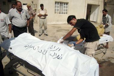 Sprogimas Irake nusinešė 9 gyvybes