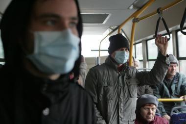 Parengtas gripo paplitimo Lietuvoje dinaminis žemėlapis