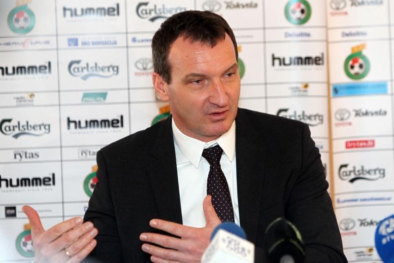 """C. Laszlo: labai gaila, kad A.Rimkevičius nežaidžia Edinburgo """"Hearts"""