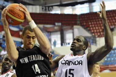 Zelandai - per žingsnį nuo pasaulio čempionato aštuntfinalio