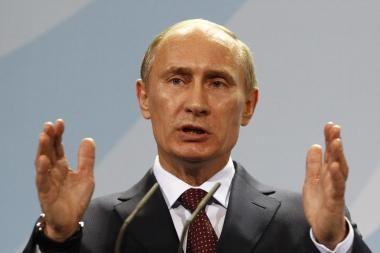 V.Putinas: iki 2020 m. Rusija - didžiausių ekonomikų penketuke
