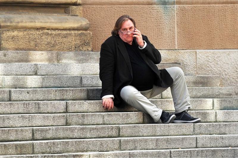 Prancūzijos kino žvaigždė G. Depardieu stos prieš teismą