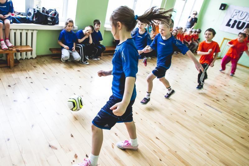 Futboliuko virusas vaikų lopšelyje-darželyje