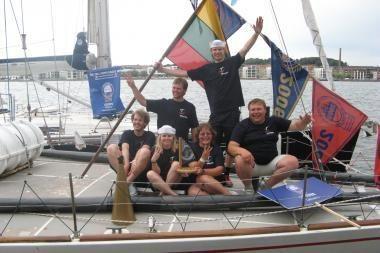 """""""The Tall Ships Races"""": antroje kovoje """"Lietuva"""" nenuleidžia burių"""