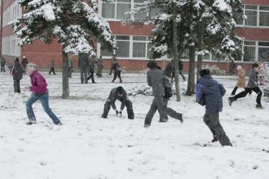Gripas Klaipėdoje: mokyklose daugėja mokinių