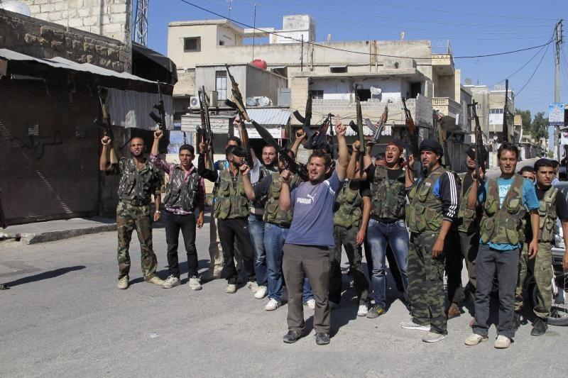 Sirijos armija atkovojo didumą Damasko iš sukilėlių
