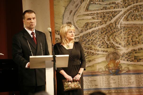 Nusipelniusiems vilniečiams įteikti Šv. Kristoforo apdovanojimai