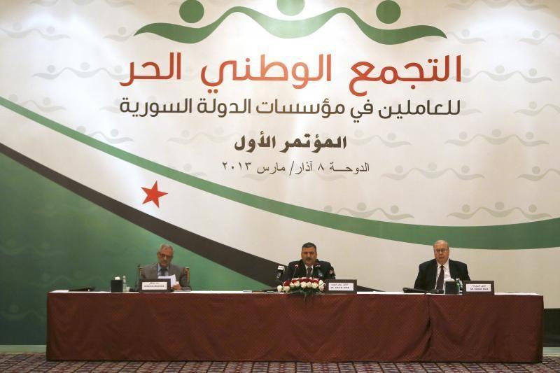 Laisvosios Sirijos armijos įkūrėjas per sprogimą buvo sužeistas