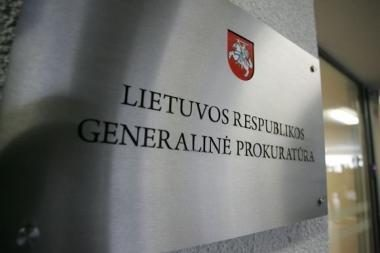 Generalinės prokuratūros vadovo prezidentė dairosi ir provincijoje