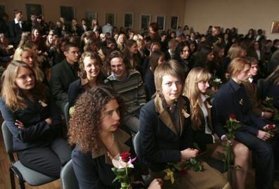 Kauniečius klupdė gimtosios kalbos egzaminas