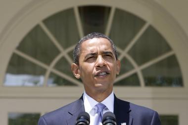 JAV prezidentui B.Obamai lūpą prakirtęs