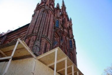 Šv. Onos bažnyčios remontas truks trejus metus
