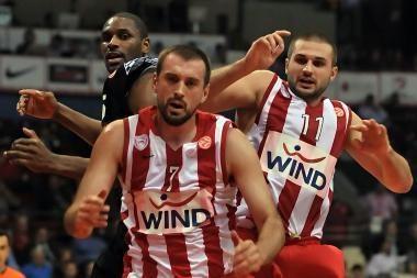 """Graikijos grandų mūšyje – 13 L.Kleizos taškų ir """"Olympiakos"""" pergalė"""