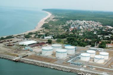 Tanklaivis su nafta Baltarusijai – Klaipėdos uoste