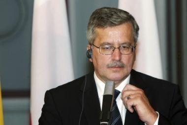 B.Komorowskis: Rusija ir Lenkija pradeda naują dvišalių santykių etapą
