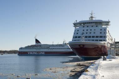 Dėl Švedijos kapitonų streiko laivai gali likti be prieplaukų