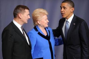Prezidentė: NATO priimti sprendimai garantuoja Lietuvos saugumą