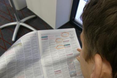 Lapkritį darbo neturėjo 3,8 procento kauniečių